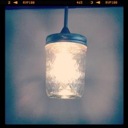 Jelly Jar Pendant Lights